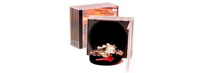 Caja Camuflada con forma de CDs
