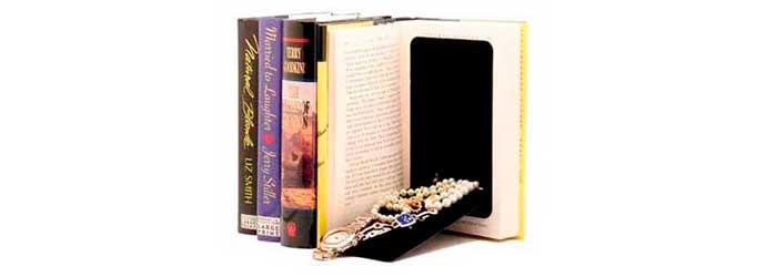 Caja Camuflada con forma de libro